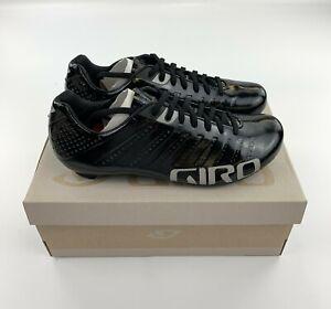 Giro Empire SLX Black / Silver Men's 39.5 EU / 7 US Road Cycling Shoes New