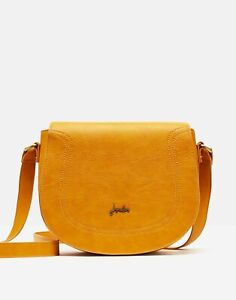 Joules Womens 211172 Pu Cross Body Bag - Antique Gold - One Size