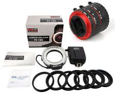 Meike FC-100 LED Fill Light Auto Focus Canon Macro Adapter Ring Extension Tube