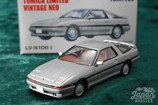 [TOMICA LIMITED VINTAGE NEO LV-N106b 1/64] TOYOTA SUPRA 2.0 GT TWIN TURBO Silver