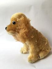 Vintage Steiff Revue Susi Sitting Cocker Spaniel Dog Mohair Plush 16 cm 1960s