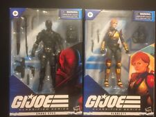 GI Joe Classified Snake Eyes and Scarlett