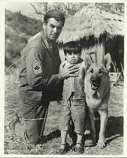 "RORY CALHOUN & MANUEL PADILLA Jr. in ""The Young and The Brave"" Photo 1963"
