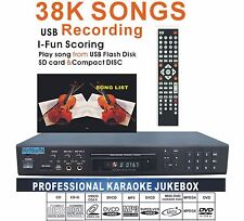 Free Midi Karaoke Player Machine,Build-In DVD device,MIC echo,SD card Reader/USB