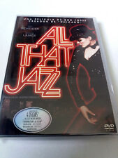 """DVD """"ALL THAT JAZZ"""" COMO NUEVO BOB FOSSE ROY SCHEIDER JESSICA LANGE"""
