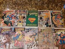 New ListingSuperman Comic Lot