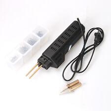 New 1 Set Hot Stapler Plastic Repair Kit Welding Staples Gun Bumper Fairing Tool