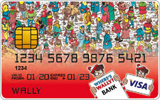 Where's Wally Novelty Plastic Credit Card