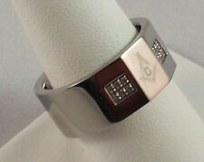 Freemason Stainless Steel Ring (size 9)