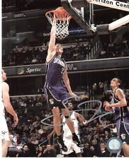SPENCER HAWES 8x10 AUTO/Autograph Sacramento KINGS Hawesomely Signed in Silver!