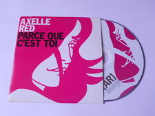 Axelle red - parce que c'est toi - cd single