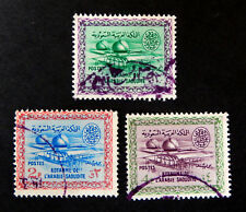 1960 Saudi Arabia - 3 Stamps/  2,3,4, Guerche / Oil Fields