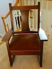 Roycroft Mission #039 Rocking Chair