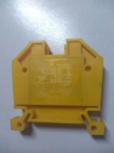 EURO 10 Connector 10mm ^ 2 yellow / # 5 6D1 4186