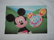 1 MICKEY MOUSE & TOODLES MOUSE K TOOLS DISNEY QUILT SQUARE SEW BLOCK FABRIC KIDS