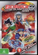 BeyBlade Metal Masters Series Vol.1 - The New Challenges - Region 4 DVD