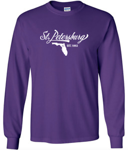St. Petersburg Florida T-Shirt Long Sleeve Graphic tee
