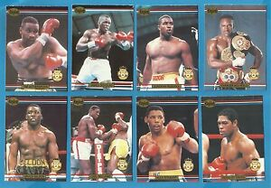 Cigarette/trade cards - BOXING CHAMPIONS - RINGLORDS - 1991 Mint Full set