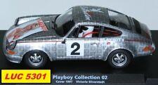 PORSCHE 911S PLAYBOY VICTORIA SILVERSTEDT EDITION LIMITEE SLOT CAR AU 1/32