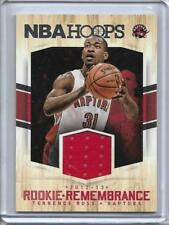 TERRENCE ROSS (TORONTO RAPTORS) - 2012-13 NBA HOOPS PLAYER-WORN JERSEY CARD