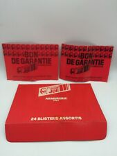 Vintage Group Action Joe Bon De Garantie Paper Leaflets & Shop Display Box Flap