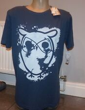 KNOWLEDGE COTTON APPAREL OWL T SHIRT SIZE X LARGE 44-46 INCH CHEST ORGANIC