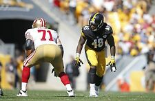 Pittsburgh Steelers Bud Dupree Unsigned 8x10 Photo Picture (pic a)