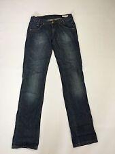 Women's Lee 'Lynn' Straight Jeans - W27 L35 - Dark Navy Wash - Great Condition