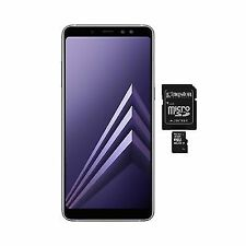 SAMSUNG Galaxy A8+ 2018 A730 64GB Dualsim 4GB RAM Unlocked Orchid Grey