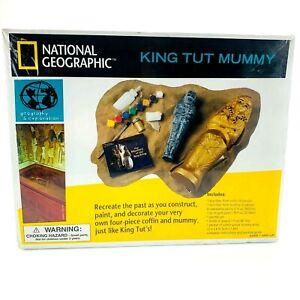 National Geographic King Tut Mummy | Paint | Construct | Decorate | NIB