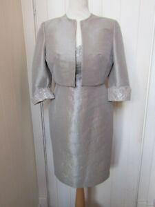 ISPIRATO coffee special occasion dress and jacket - UK10 - BNWOT