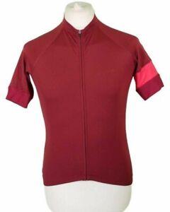 Rapha Short Sleeve Training Jersey Medium Purple