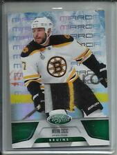 Milan Lucic 11/12 Panini Certified Mirror Emerald Game Used Jersey Patch #5/5