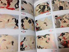 JAPANESE shunga Art Ukiyo-e history old illustration collection utagawa art book