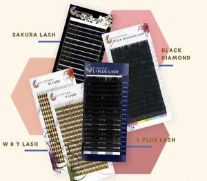 Wimpernverlängerung Einzelwimpern Suzy Natural Sakura Silk Lash C,D,0.05,11-13mm