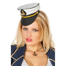 Mini Kapitänsmütze mit Haarreif