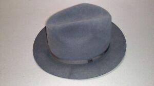 Brooks Brothers Vintage Genuine Fur Felt 7 3/8 59 Hat Size Made in USA