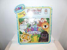 Webkinz Mouse Pad IT'S A JUNGLE  By Ganz NIP Tiger Frog Panda Bear Monkey Lion