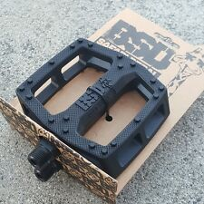 BSD BMX BIKE SAFARI BLACK PC BICYCLE PEDALS ODYSSEY COLONY FIT PRIMO CULT
