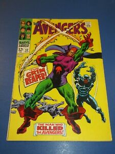 Avengers #52 Silver age Black Panther Joins Key VG-