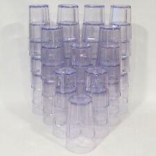 "Cambro Laguna Tumblers (LT22) 22oz, 6"" Tall - Lot of 36 Restaurant Glasses"