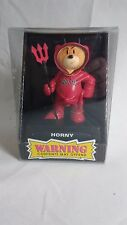 "Bad Taste Bears Figurine ""HORNY"" New Novelty Gag Gift Nasty Adult Fun Offensive"