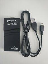 Plugable USB 2.0 to VGA Display Link Graphics Adapter USB-VGA-165 Used