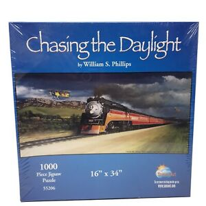 CHASING THE DAYLIGHT by William S. Phillips 1000 pc. Jigsaw Puzzle SUNSOUT