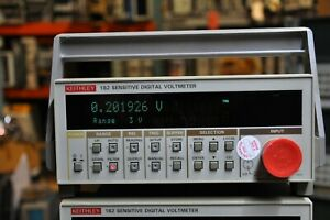 Keithley 182 Sensitive Digitial Voltmeter Nice Shape No Probe.