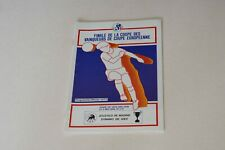 More details for 1986 european cup winners cup final atletico madrid v dynamo kiev programme