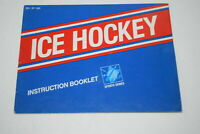 Ice Hockey Nintendo NES Video Game Manual Only