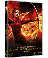 HUNGER GAMES - Il Canto Della Rivolta 2 (DVD) Jennifer Lawrence, Liam Hemsworth