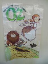Wonderful Wizard Of Oz Marvel Comic Book Promo Poster Dorothy Tin Man Lion