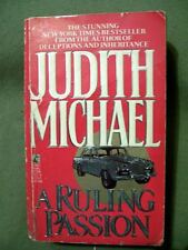 2 Judith Michael Paperbacks ~ Possessions and A Ruling Passion